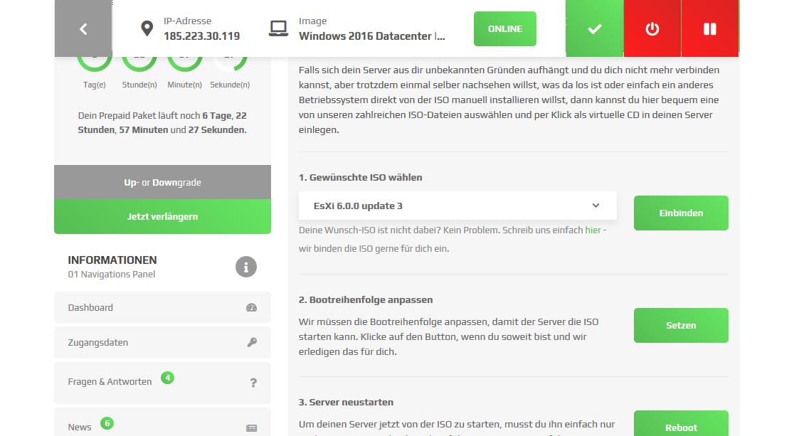 Rent a Windows Rootserver - ZAP-Hosting com